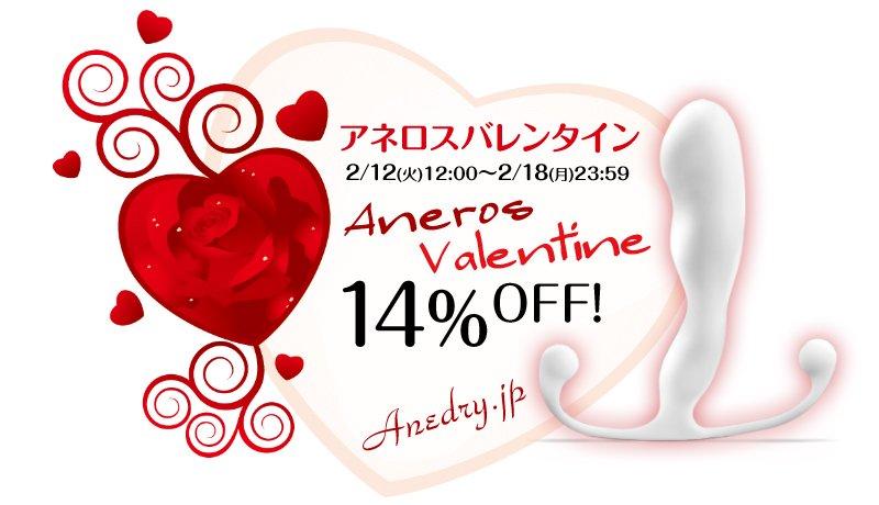 【クーポンで14%OFF!】2/12~2/18アネロスジャパン2019バレンタインセール開催!